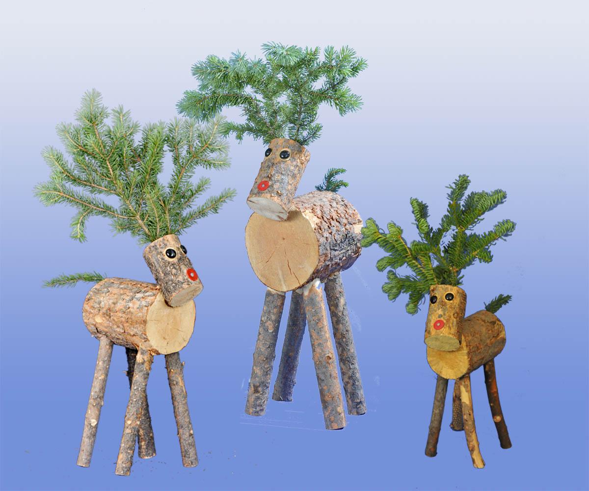 indoor wooden christmas decorations